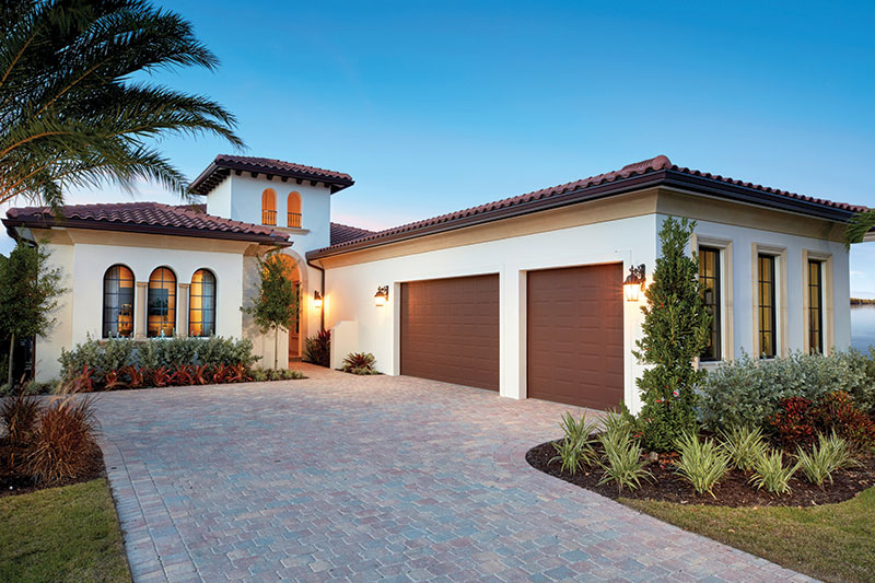 New Construction Waterfront Luxury Model Homes located in Miromar Lakes, FL
