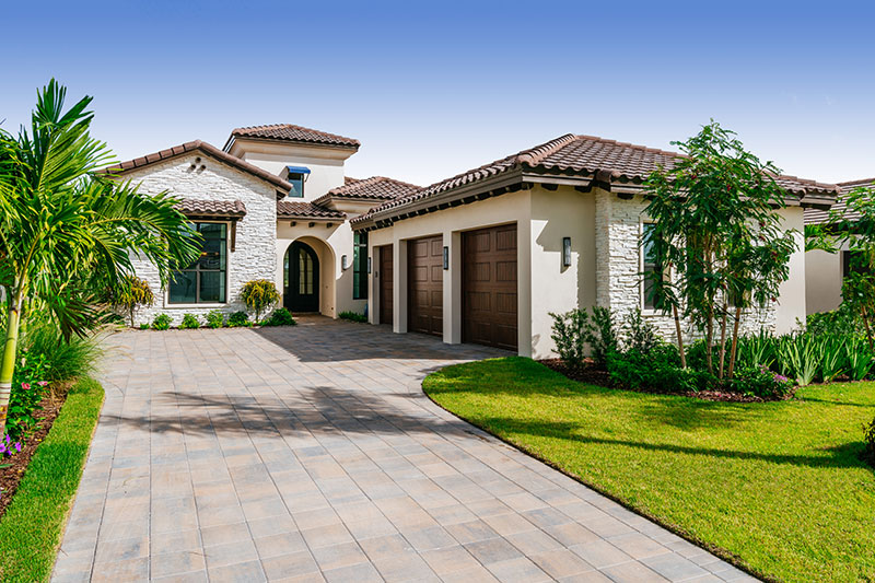 Marvelous New Construction Waterfront Luxury Model Homes Located In Miromar Lakes, FL