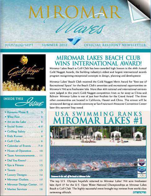 Miromar Waves - Summer 2012